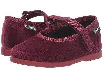 Cienta Kids Shoes 400075 (Infant/Toddler) (Burgundy) Girl