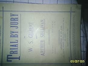Vocal Score of Trial by Jury
