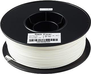 3Dプリンター用 フィラメント PLA樹脂 1.75mm 1Kg ノズル詰まり軽減機能搭載(ホワイト)