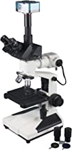 Radical 800x Professional Upright Trinocular Microstructure Analysis Metallurgical LED Reflected Light Industrial Microscope w 3Mpix Camera
