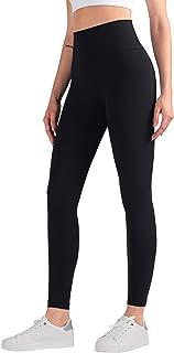 Mallas deportivas para mujer de Animque, longitud hasta el tobillo, cintura alta, con bolsillo en la cadera, delgadas, muy...