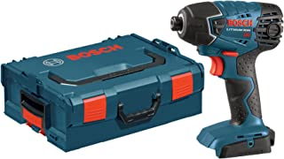 Bosch Bare-Tool 25618BL 18-Volt Lithium-Ion 1/4-Inch Hex Impact Driver  with L-BOXX-2 and Exact-Fit Tool Insert Tray