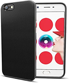 MTT Dual Layer Tough Armor Back Cover Case with Heavy Duty Protection for Oppo A57 (Grey)