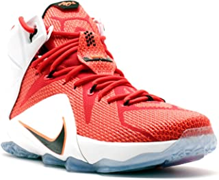 Nike Lebron XII 12 Heart of a Lion Men's Basketball Shoes 684593-601 (9.5) Red