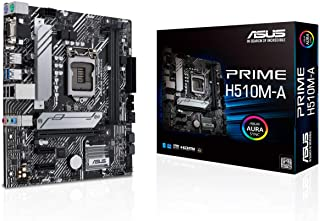 ASUS PRIME H510M-A - Scheda madre Micro-ATX Intel H510 LGA 1200 (PCIe 4.0, slot M.2 da 32 GPS, WiFi 5, 1 GB Ethernet, USB ...