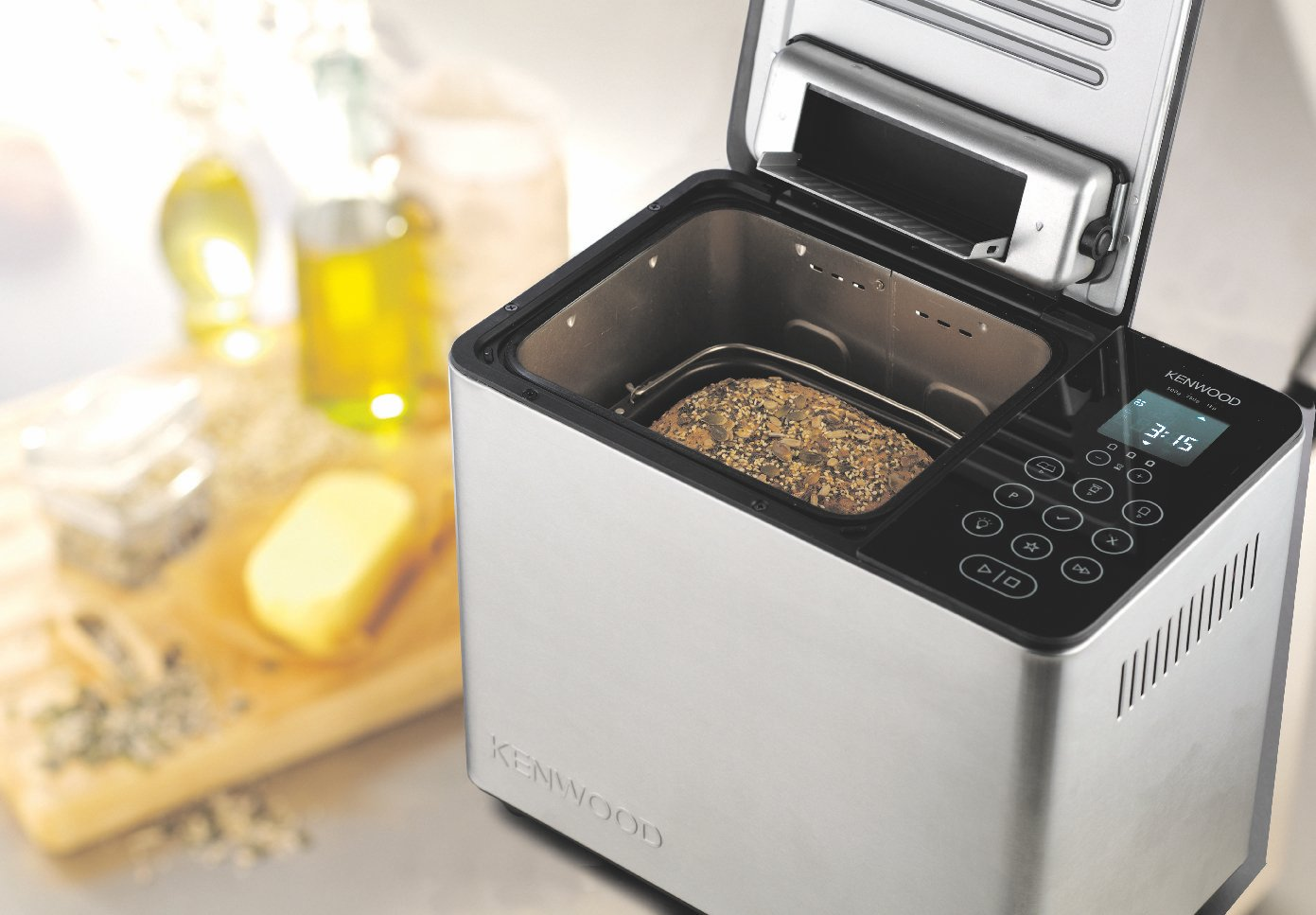 Kenwood BM450 Artisan Bread Maker 20 programs Silver: Amazon.sg: Home
