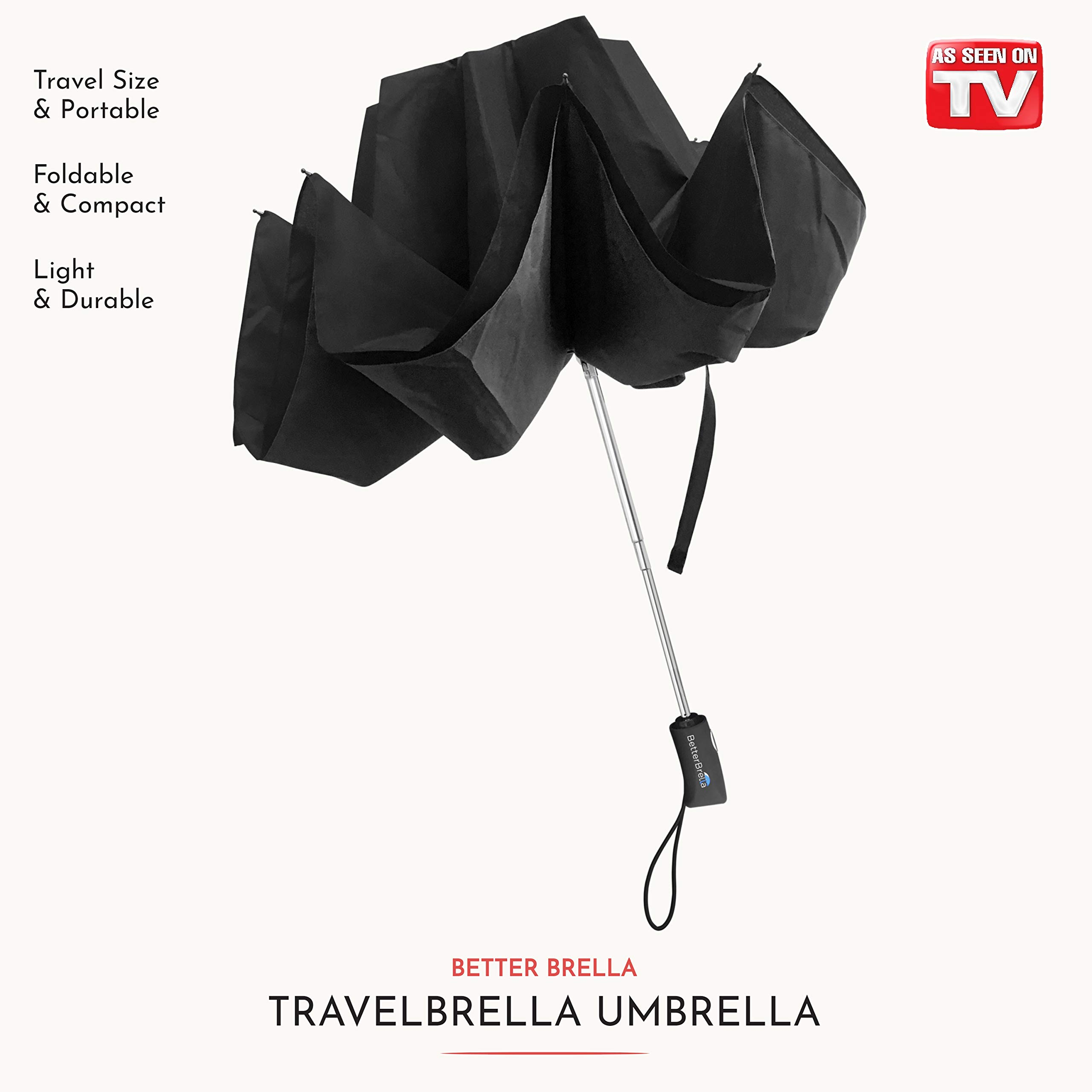 New Better Brella Auto Collapsible With Flashlight