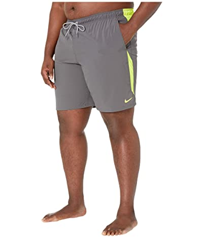 Nike Big Tall 9 Contend Volley Shorts (Iron Grey) Men
