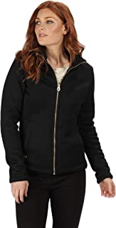 Regatta Women's Raizel Full-Zip Knit Effect Hi Pile Bonded Fleece