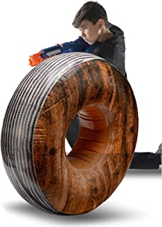 BUNKR Inflatable Cable Spool for Nerf, Lazer Gun & Blaster Battles Compatible with Nerf, Laser X, X-Shot & Boomco