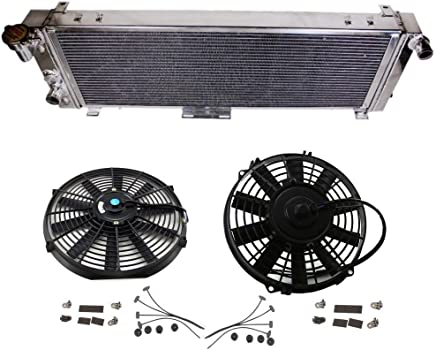 3Row Aluminum Radiator For Jeep Cherokee Comanche 2.5 4.0 6 Cylinder 1984-2001