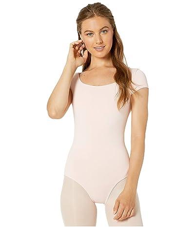 Bloch Cap Sleeve Leotard (Light Pink) Women