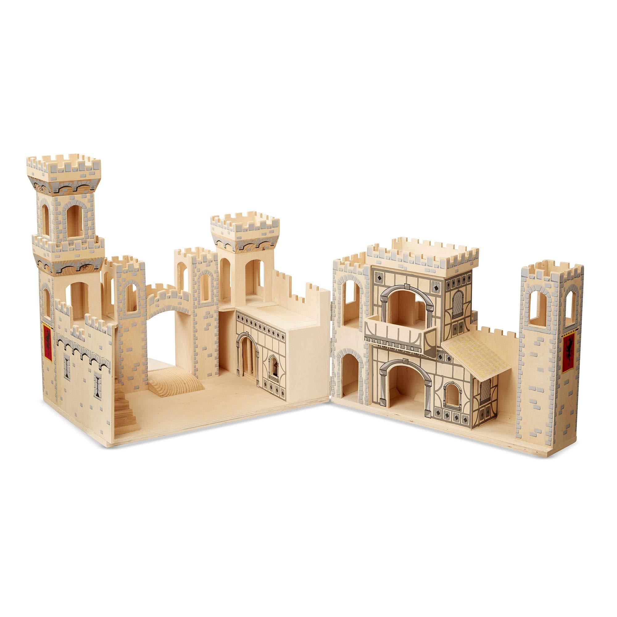 Melissa & Doug 11329 - Castillo Medieval Plegable: Amazon.es: Juguetes y juegos