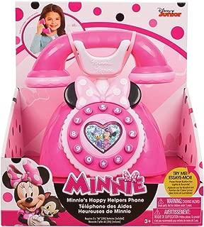 Just Play Girls Minnie Happy Helpers Rotary Phone Playset