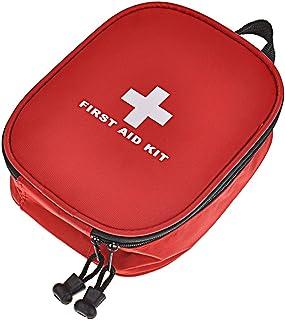 DEWEL Botiquín de Primeros Auxilios, Bolso de Primeros Auxilios de Emergencia de Supervivencia Bolsa Médica para Coche, Hogar, Camping, Caza, Viajes, Aire Libre o Deportes(no Incluye Medicina)