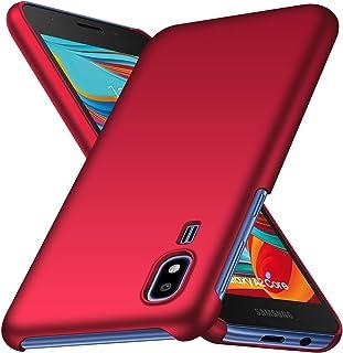 جراب FanTing لهاتف Samsung Galaxy A2 Core [رفيع للغاية] [مضاد للإسقاط] [ملمس حرير] جراب صلب واقي من البولي كربونات لهاتف S...