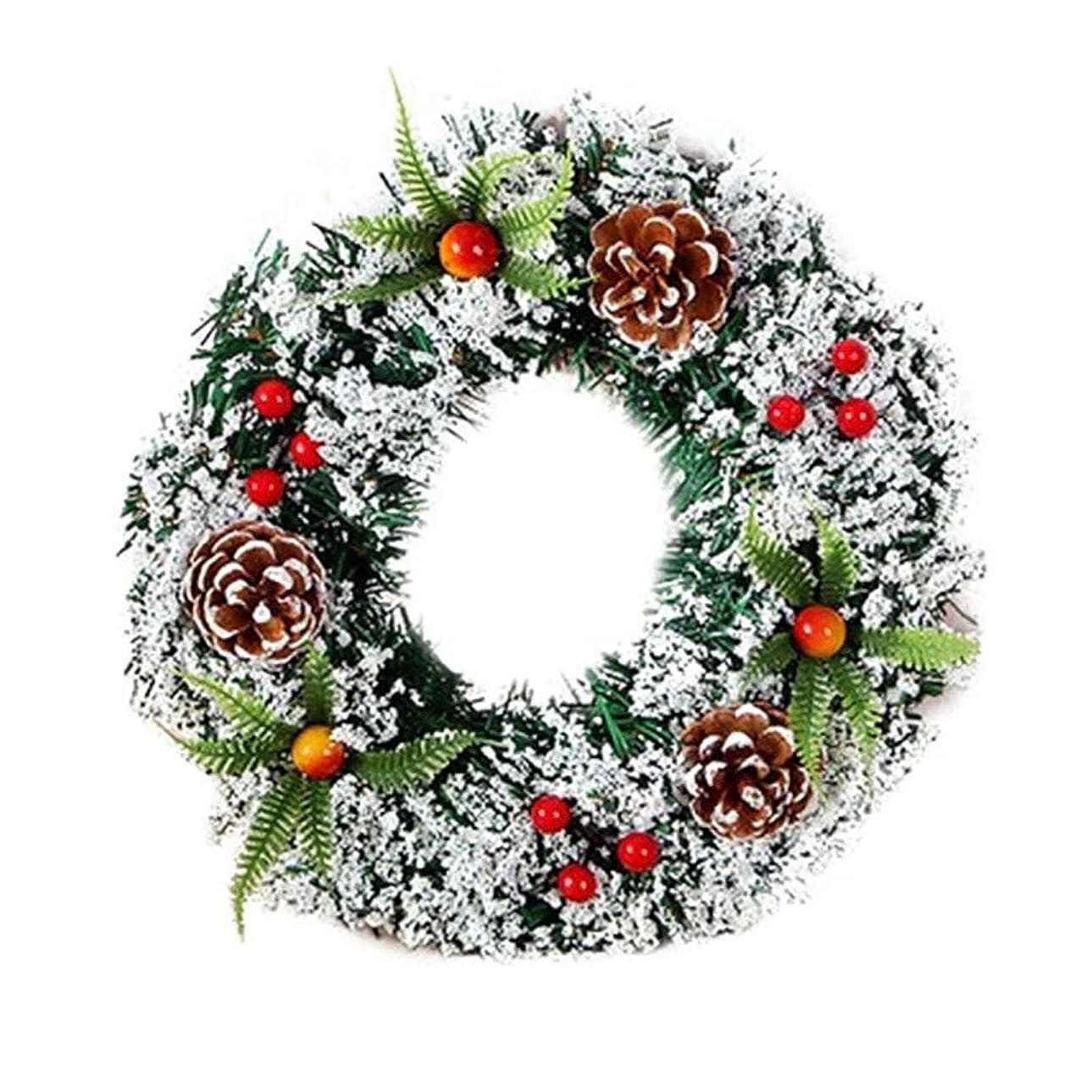 シーズン石時系列YideaHome クリスマスリース Xmas クリスマス 飾り インテリア 玄関 ドア 飾り アクセサリー 壁掛け 玄関飾り お店飾り 撮影用品 開店祝い 新築祝い