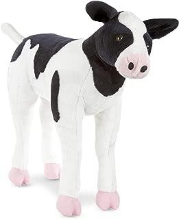 Melissa & Doug Giant Calf - Lifelike  Stuffed Animal Baby Cow (2 feet tall)