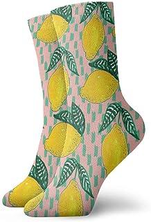 Unisex High Ankle Cushion Crew Socks Mango Picture Casual Sport Socks
