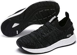 PUMA Women's Nrgy Neko Engineer Knit WN's Sneaker, Black White