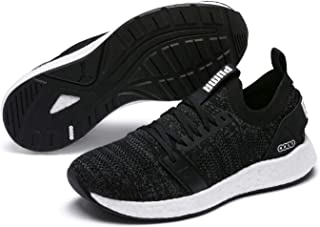 PUMA Women's Nrgy Neko Engineer Knit WN's Sneaker, Black White