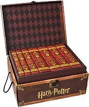 Harry Potter Gryffindor House Trunk Set   Seven-Volume Hardcover Book Set with Custom Designed Juniper Books Dust Jackets   Author J.K. Rowling