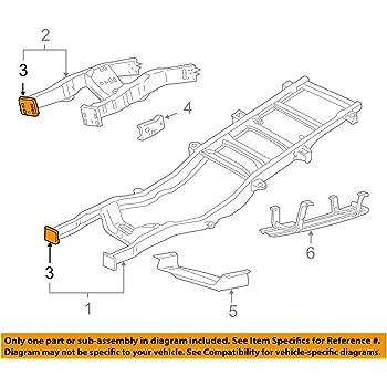 Genuine Ford 5C3Z-17755-AA Bumper Mounting Bracket