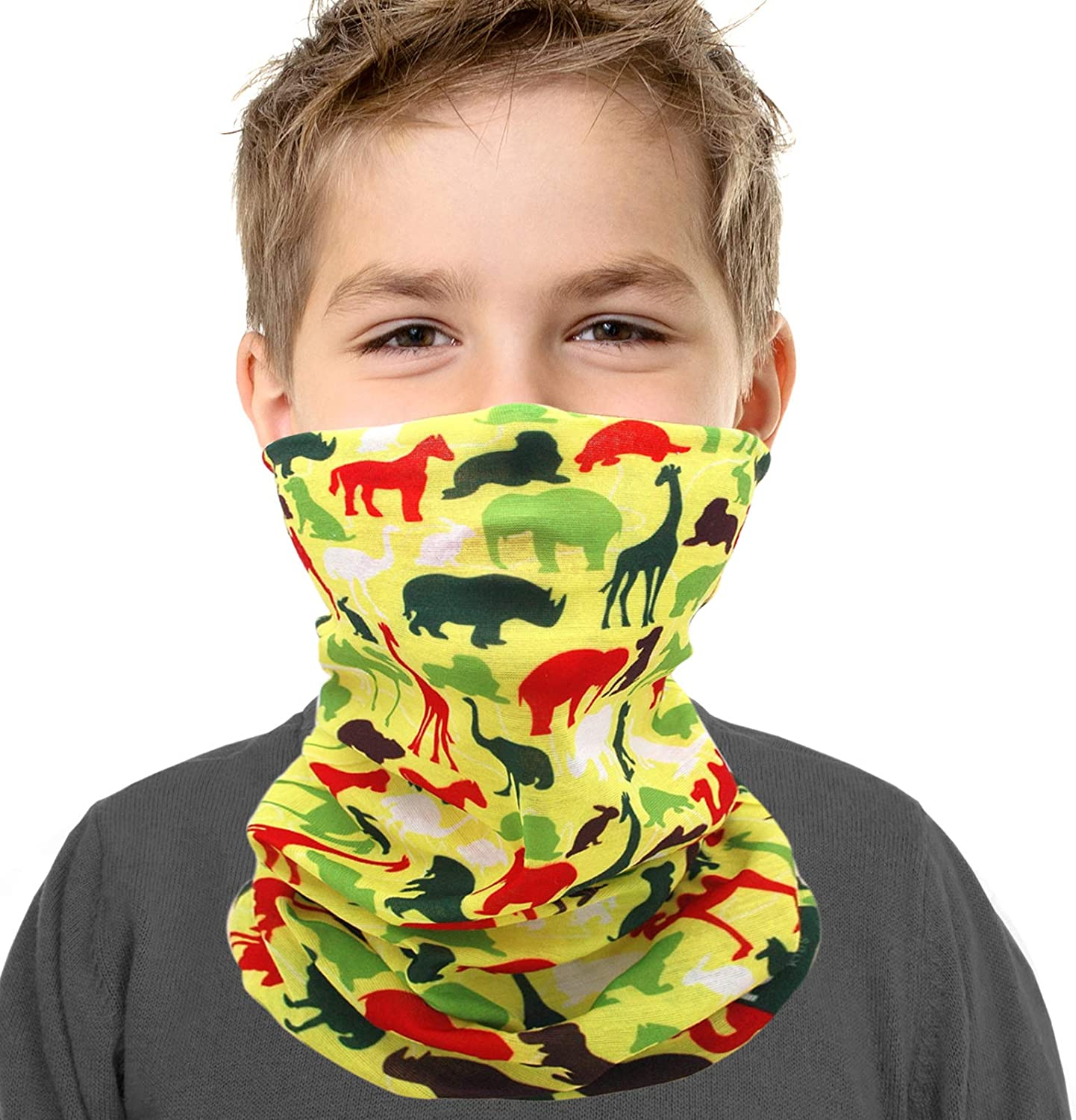 Neck Gaiter Safety and Cheap super special price trust Face Mask for Kids Windproof Boys - Girls Breathable