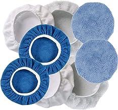 9-10 Inch Polishing Bonnet Buffer Pads Soft Wool For 225mm-250mm Car Polisher