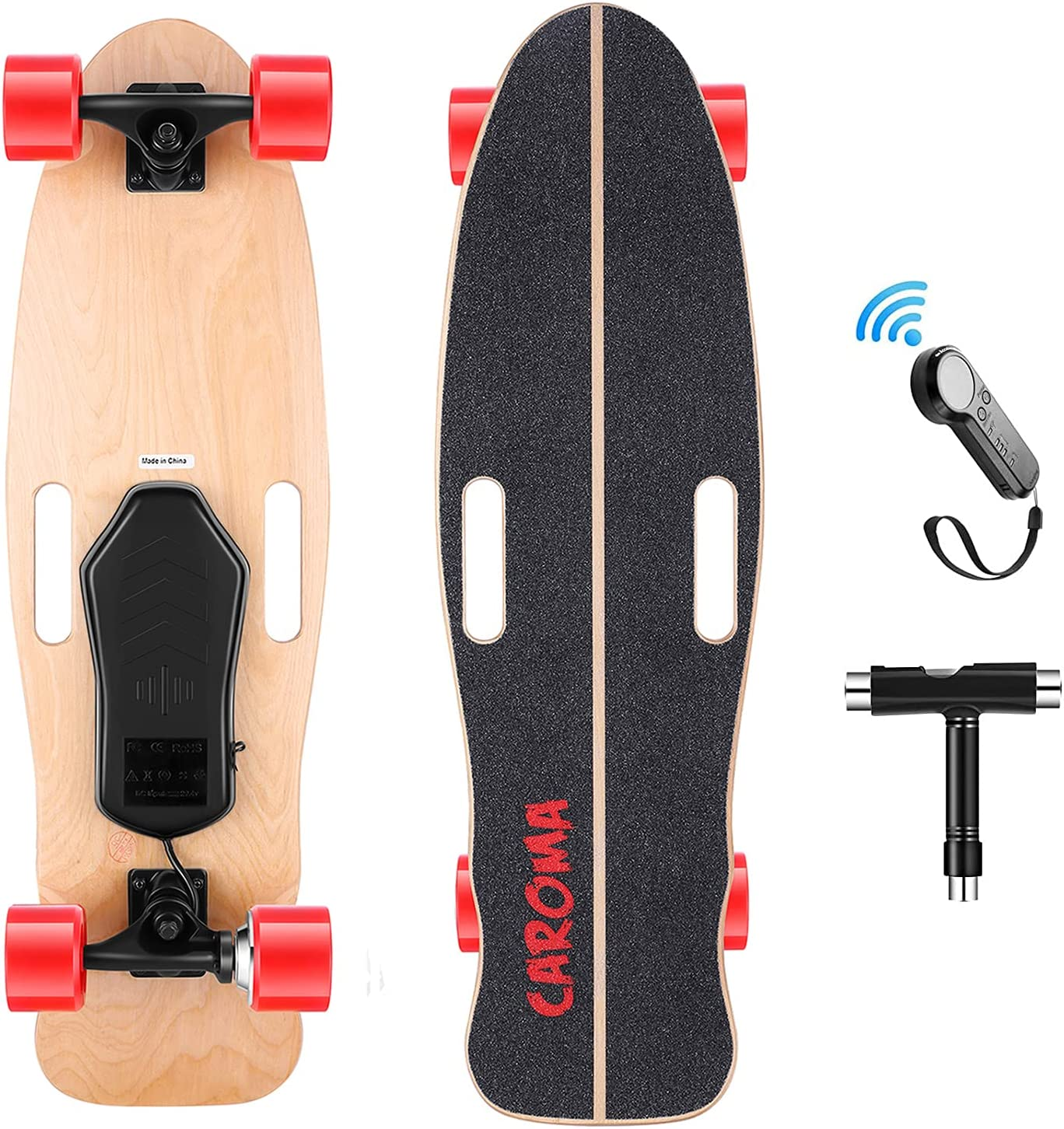 Electric 5 ☆ very popular Skateboard 32 Inch Complete Max 48% OFF 8 Layer Maple D