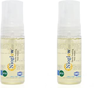 Generic Nioglow Gentle Foaming Facewash (Pack Of 2) 60Ml Each