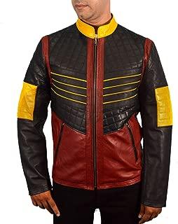 F&H Men's Synthetic Leather The Flash Cisco Ramon Vibe Paco Ramone Jacket