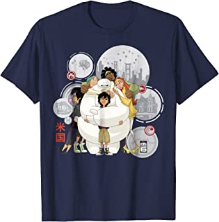 Disney Big Hero 6 TV Series Baymax Hugs Graphic T-Shirt