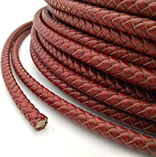 woven leather cord