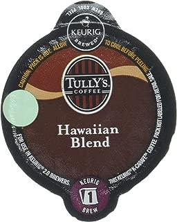 Tully's Hawaiian Blend Keurig K-Carafe Pack, 8 Count