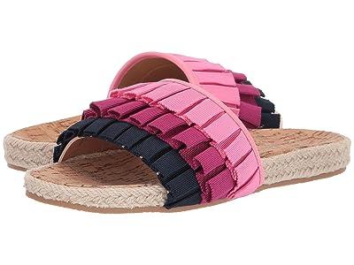 Jack Rogers Flynn Slide (Multi Pink) Women