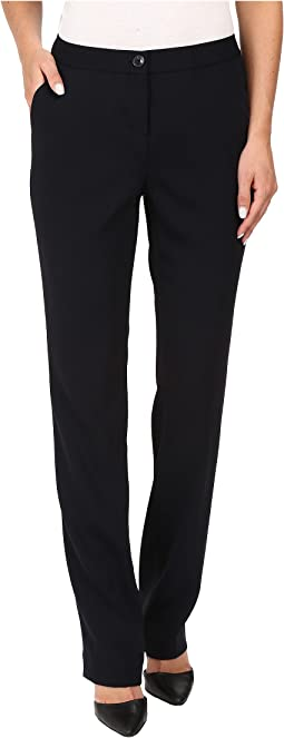 Ivanka Trump Crepe Straight Leg Pants