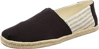 TOMS Ivy League Stripes, Men's Shoes, Black, 9 UK (43 EU)