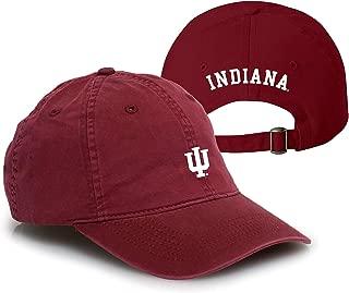 NCAA Primary Logo, Team Color Vintage Adjustable Hat, College, University