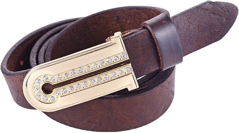 SED Diamond Thin Belt Ginning Fashion Women Decoration Boy Men's Atmospheric Fashion Ornaments Waist Belt