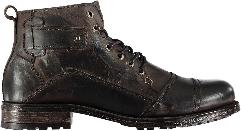 Firetrap Webb Stivali Caviglia da Uomo Marronee Sautope