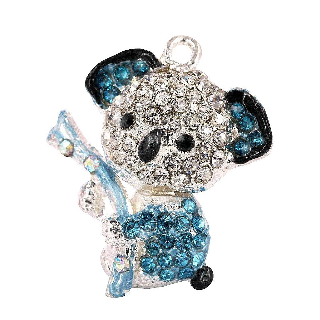 Creative DIY Blue Koala Bear Charms Pendants Wholesale (Set of 3) MH516