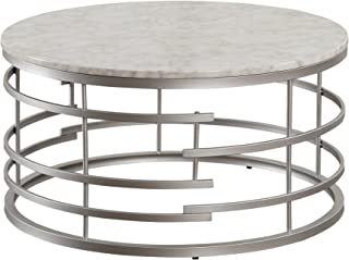 Amazon Com Silver Coffee Tables Tables Home Kitchen