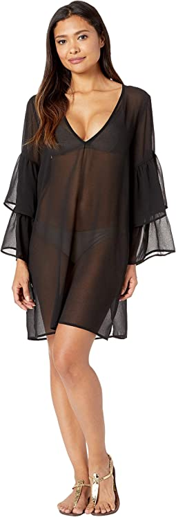 Urban Gypsy Ruffle Sleeve Cover-Up