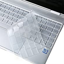 Clear Keyboard Cover Skin for 2017 Release 13.3 inch HP Spectre x360 2-in-1 13t-ac00 13-ac013dx ac023dx ac033dx 13-w013dx w023dx w053nr 13-ae011dx ae012dx ae013dx ae014dx ae012nr ae052nr Series Laptop