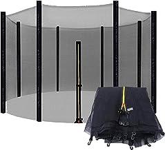 Recreatieve trampoline veiligheidsnet Anti-val trampoline beschermingsnet voor rechte palen Trampolines met rond frame (al...