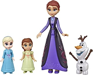 Disney Frozen Family Set Elsa & Anna Dolls with Queen Iduna Doll & Olaf Toy, Inspired by The Frozen 2 Movie