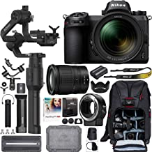 Nikon Z6 Mirrorless Full-Frame Camera Filmmaker's Kit with 24-70mm F4 S Lens + DJI Ronin-S Essentials Kit 3-Axis Handheld Gimbal Stabilizer Bundle + Mount Adapter FTZ + Deco Photo Backpack + Software
