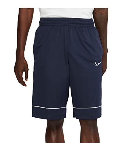 Nike Big Tall Shorts Fastbreak (Obsidian/Obsidian/White) Men