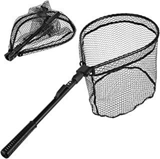 MelkTemn Fishing Net, Fish Net Foldable Fish Landing Net...